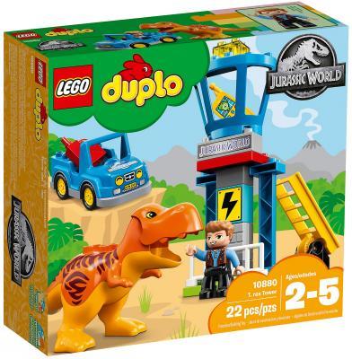Конструктор LEGO Duplo: Башня Ти-Рекса 22 элемента 10880