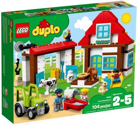 Конструктор LEGO Duplo: День на ферме 104 элемента 10869