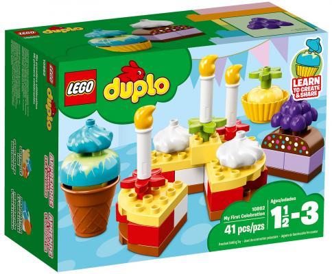 Конструктор LEGO Duplo: Мой первый праздник 41 элемент 10862