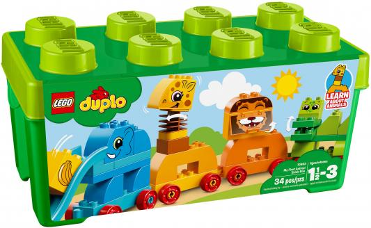 Конструктор LEGO Duplo: Мой первый парад животных 34 элемента 10863 конструктор lego duplo мой первый поезд 10507