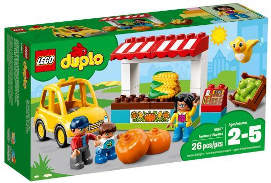 Конструктор LEGO Duplo: Фермерский рынок 26 элементов 10867
