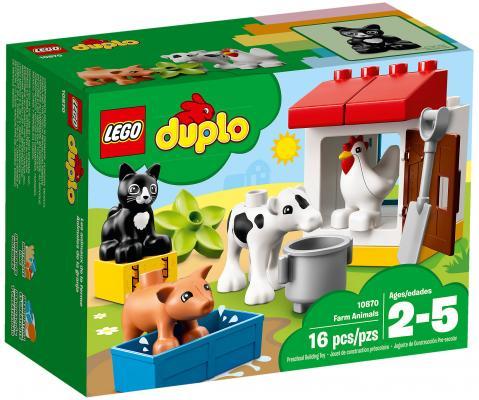 Конструктор LEGO Duplo: Ферма - домашние животные 16 элементов 10870
