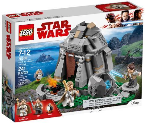 Конструктор LEGO Star Wars: Тренировки на островах Эч-То 241 элемент 75200
