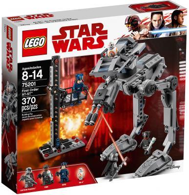 Конструктор LEGO Star Wars: Вездеход AT-ST Первого Ордена 370 элементов 75201