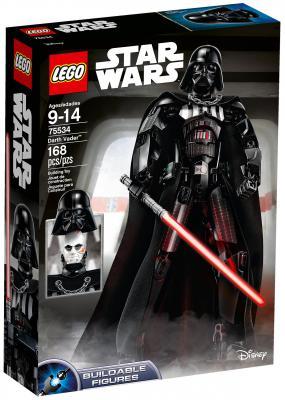 Конструктор LEGO Star Wars: Дарт Вейдер 168 элементов 75534