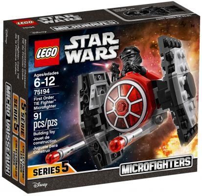 Конструктор LEGO Star Wars: Микрофайтер Истребитель СИД Первого Ордена 91 элемент 75194