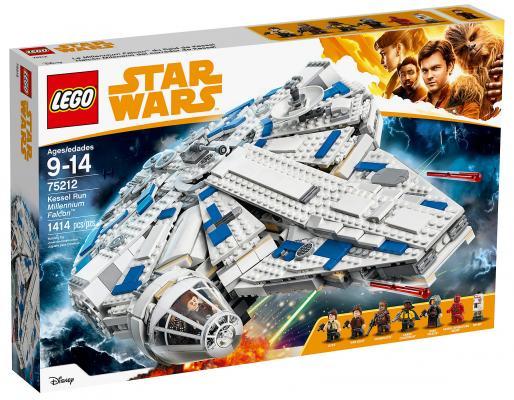 Конструктор LEGO Star Wars: Сокол Тысячелетия на Дуге Кесселя 1414 элементов 75212