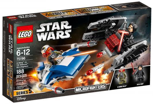 Конструктор LEGO Star Wars: Истребитель типа A против бесшумного истребителя СИД 188 элементов 75196