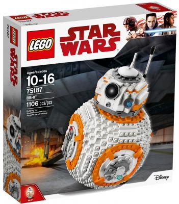 Конструктор LEGO Star Wars: ВВ-8 1106 элементов 75187