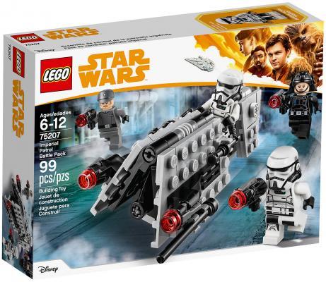 Конструктор LEGO Star Wars: Боевой набор имперского патруля 99 элементов 75207 конструктор lego star wars боевой набор повстанцев 75164