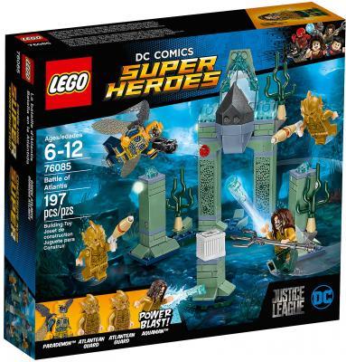 где купить Конструктор LEGO Super Heroes: Битва за Атлантиду 197 элементов 76085 дешево