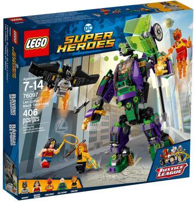 Конструктор LEGO Super Heroes: Сражение с роботом Лекса Лютора 406 элементов 76097