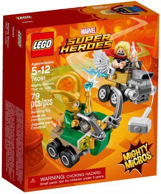 Купить Конструктор LEGO Super Heroes: Тор против Локи 79 элементов 76091, Конструкторы