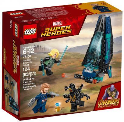 Конструктор LEGO Super Heroes: Атака всадников 124 элемента 76101 цена