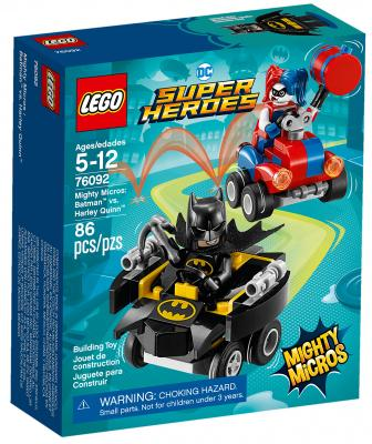 Конструктор LEGO Super Heroes: Mighty Micros - Бэтмен против Харли Квин 86 элементов коврик в багажник citroen xsara picasso 1999 мв полиуретан