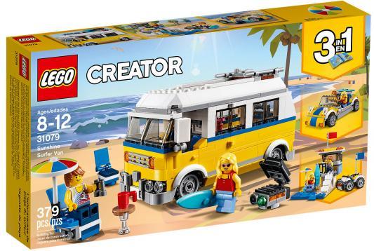 Конструктор LEGO Creator: Фургон сёрферов 379 элементов 31079 конструктор lego creator самолёт для крутых трюков 200 элементов 31076