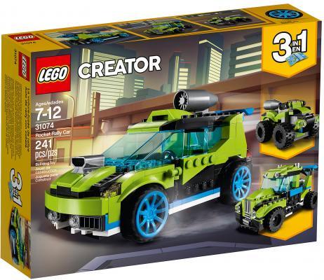 Конструктор LEGO Creator: Суперскоростной раллийный автомобиль 241 элемент 31074 цена