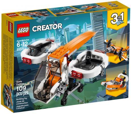 Конструктор LEGO Creator: Дрон-разведчик 109 элементов 31071 цена