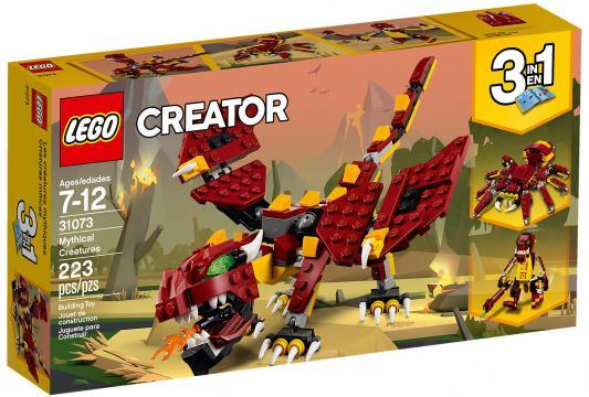 все цены на Конструктор LEGO Creator: Мифические существа 223 элемента 31073 онлайн