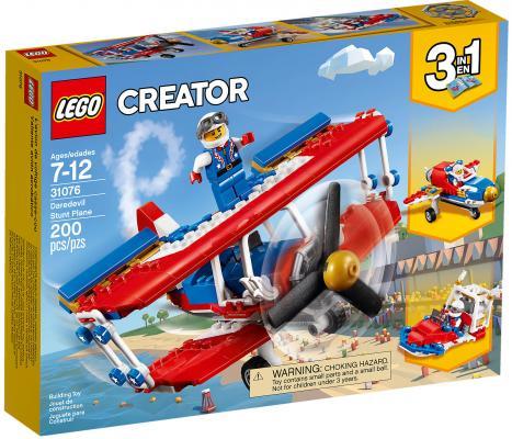 Конструктор LEGO Creator: Самолёт для крутых трюков 200 элементов 31076 кресло мешок груша пазитифчик желтый 03