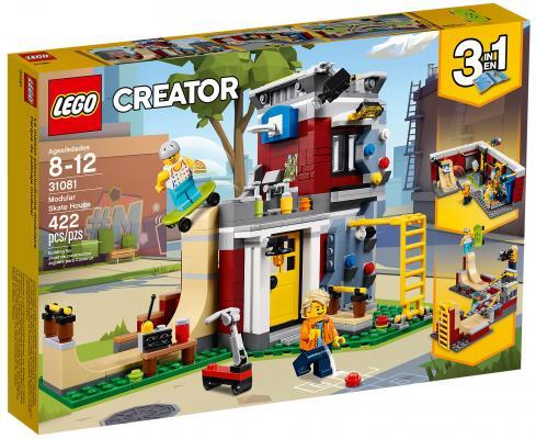 Конструктор LEGO Creator: Скейт-площадка (модульная сборка) 422 элемента 31081 цена