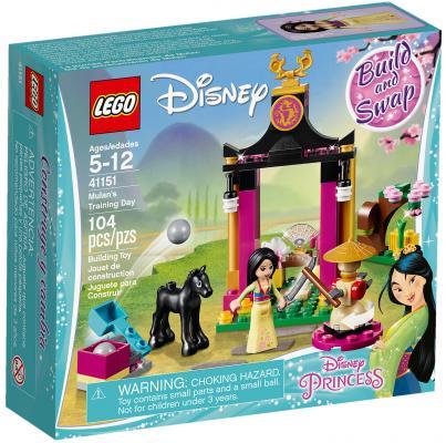 Конструктор LEGO Disney Princess: Учебный день Мулан 104 элемента 41151 конструктор lego disney princess 41154 волшебный замок золушки