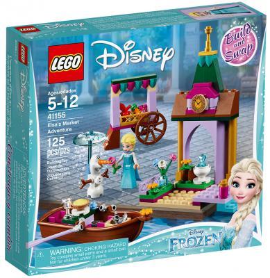 Конструктор LEGO Disney Princess: Приключения Эльзы на рынке 125 элементов 41155 конструктор lego disney princess волшебный замок золушки 585 элементов 41154