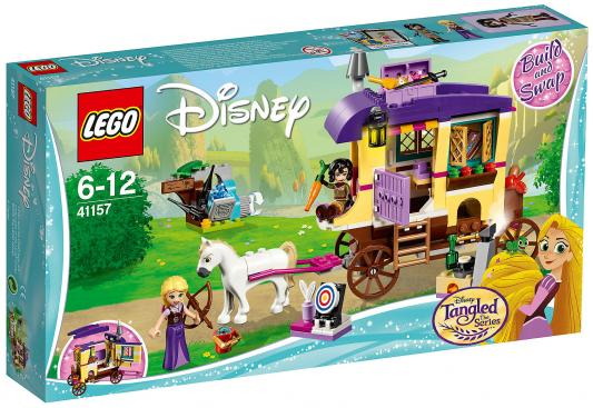 Конструктор LEGO Disney Princess: Экипаж Рапунцель 323 элемента 41157 конструктор lego disney princess королевские питомцы жемчужинка 41069