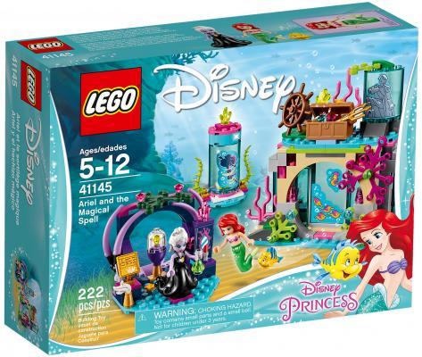 Конструктор LEGO Disney Princess: Ариэль и магическое заклятье 222 элемента 41145 lego lego disney princess 41145 ариэль и магическое заклятье