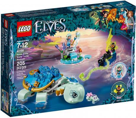 Конструктор LEGO Elves: Засада Наиды и водяной черепахи 205 элементов 41191