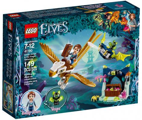 Конструктор LEGO Elves: Побег Эмили на орле 149 элементов 41190