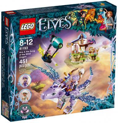 Конструктор LEGO Elves: Эйра и дракон Песня ветра 451 элемент 41193