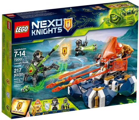 Конструктор LEGO Nexo Knights: Летающая турнирная машина Ланса 217 элементов 72001 ic 51 444 400 plcc44 ic test burn in socket programmer adapter green black
