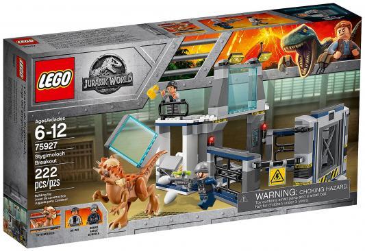 Конструктор LEGO Jurassic World: Побег стигимолоха из лаборатории 222 элемента 75927