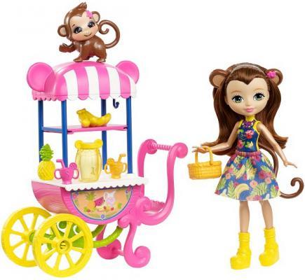 Купить Игрушка MATTEL Enchantimals Игровой набор Фруктовая корзинка , для девочки, Прочие игровые наборы