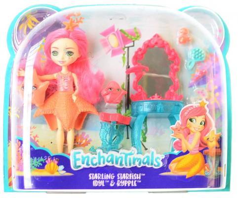 Купить Игрушка Enchantimals Морские подружки с тематическим набором, MATTEL, 15 см, пластмасса, текстиль, Классические куклы и пупсы