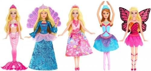 Кукла MATTEL Сказочная 10 см V7050 кукла barbie fairytale checklane asst dolls фея 10 см v7050