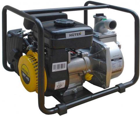 Мотопомпа HUTER MP-40 2.8лс 18000л/ч глубина 8м высота 30м мотопомпа huter mp 40