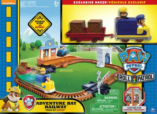 Купить Набор PAW PATROL Железная дорога спасателей разноцветный 16695, Игрушечные машинки