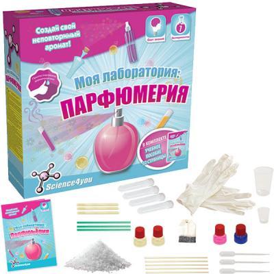 Набор для опытов Science4You Моя лаборатория: парфюмерия от 8 лет парфюмерия фото красивые