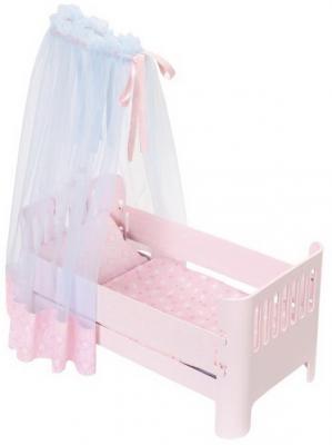 Кроватка для кукол Zapf Creation Baby Annabel Спокойной ночи игрушка baby annabell кроватка спокойной ночи кор