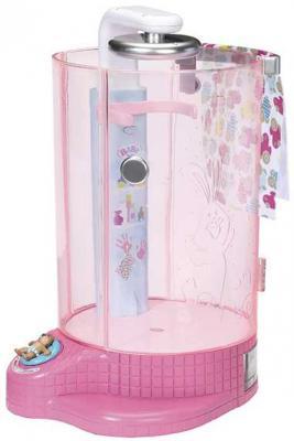 "душевая кабинка Zapf Creation Душевая кабинка для кукол ""Беби Бон"" 823-583"