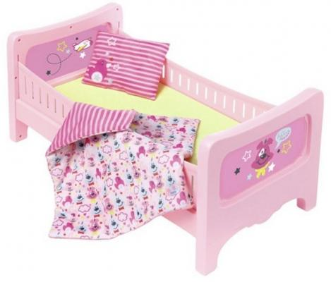 Кроватка для кукол Zapf Creation Кроватка кроватка для кукол астрон кроватка с одеялом 0004