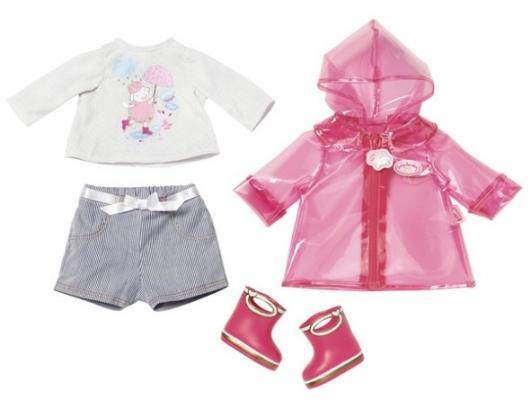 Одежда для кукол Zapf Creation Одежда для дождливой погоды женская одежда