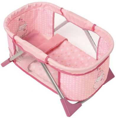 Кроватка для кукол Zapf Creation Baby Annabell zapf creation мебель для куклы zapf creation baby annabell кроватка качалка