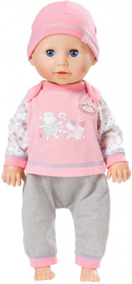 Кукла ZAPF Creation Беби Анабель 43 см плачущая 626368 кукла zapf creation беби анабель 43 см плачущая 626368