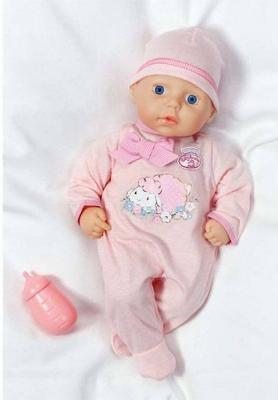 Игрушка my first Baby Annabell Кукла с бутылочкой, 36 см, дисплей аксессуары для кукол zapf игрушка baby annabell памперсы