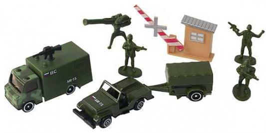 Купить Набор Wincars Набор военной техники камуфляж 30815B, Игрушечные машинки