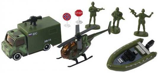 Фото - Набор Wincars Набор военной техники камуфляж 30815C набор школьниика barbie