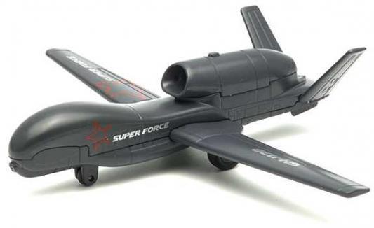 Самолет Welly SUPER FORCE серый 99191